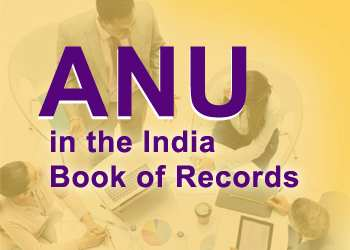 ANU in the India Book of Records