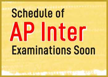 Schedule of AP Inter Examinations Soon