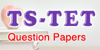 TS TET 2016 - Paper I Question Paper With Key